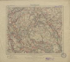 Karte des Deutschen Reiches 1:100 000 - 197. Kauernik