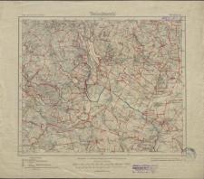 Karte des Deutschen Reiches 1:100 000 - 198. Gilgenburg