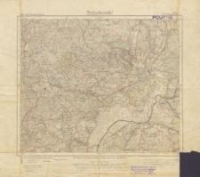 Karte des Deutschen Reiches 1:100 000 - 222. Schneidemühl