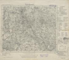 Karte des Deutschen Reiches 1:100 000 - 246. Königsberg i.d. Neum.