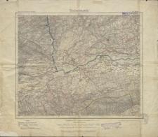 Karte des Deutschen Reiches 1:100 000 - 249. Filehne