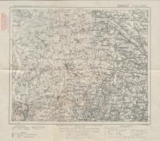 Karte des Deutschen Reiches 1:100 000 - 279. Popowo-Radziejów