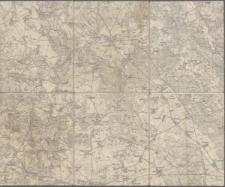 Karte des Deutschen Reiches 1:100 000 - 298. Meseritz