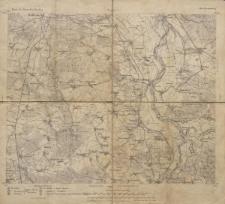 Karte des Deutschen Reiches 1:100 000 - 320. Fürstenberg