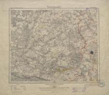 Karte des Deutschen Reiches 1:100 000 - 322. Züllichau