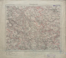 Karte des Deutschen Reiches 1:100 000 - 325. Schrimm