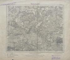 Karte des Deutschen Reiches 1:100 000 - 318. Zossen