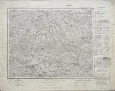 Karte des Deutschen Reiches 1:100 000 - 345. Sommerfeld (Ndr. Lausitz)