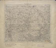 Karte des Deutschen Reiches 1:100 000 - 369. Spremberg