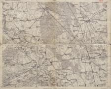 Karte des Deutschen Reiches 1:100 000 - 366. Torgau