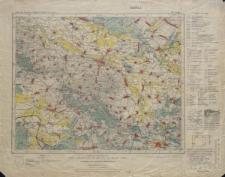 Karte des Deutschen Reiches 1:100 000 - 372. Glogau