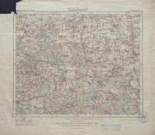 Karte des Deutschen Reiches 1:100 000 - 375. Krotoschin