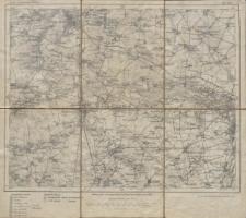 Karte des Deutschen Reiches 1:100 000 - 389. Halle