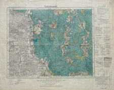 Karte des Deutschen Reiches 1:100 000 - 395. Kohlfurt