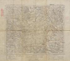 Karte des Deutschen Reiches 1:100 000 - 401. Kempen-Wieruszów