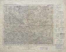 Karte des Deutschen Reiches 1:100 000 - 421. Löwenberg