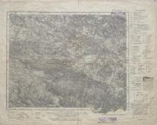 Karte des Deutschen Reiches 1:100 000 - 447, 472. Hirschberg i. Riesengeb., Schneekoppe