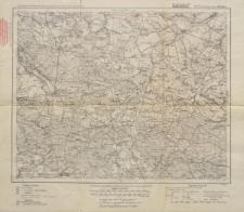 Karte des Deutschen Reiches 1:100 000 - 453. Rosenberg i. O. Schl.-Krzepice