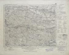 Karte des Deutschen Reiches 1:100 000 - 452. Kreuzburg i. Schl.