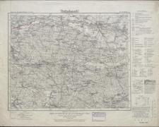 Karte des Deutschen Reiches 1:100 000 - 452. Kreuzburg O.S.