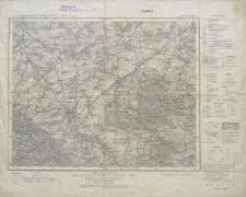 Karte des Deutschen Reiches 1:100 000 - 449. Schweidnitz