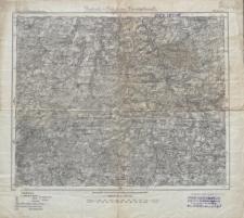 Karte des Deutschen Reiches 1:100 000 - 467. Greiz