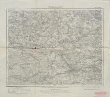 Karte des Deutschen Reiches 1:100 000 - 500. Gleiwitz