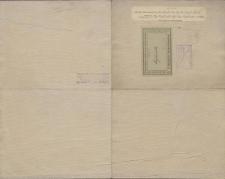 Karte des Deutschen Reiches 1:100 000 - 521. Myslowitz