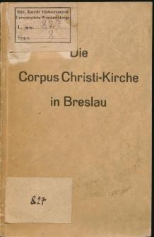 Die Corpus Christi-Kirche in Breslau. Eine Führung
