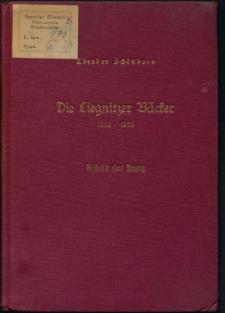 Die Liegnitzer Bäcker 1252-1939. Geschichte einer Innung