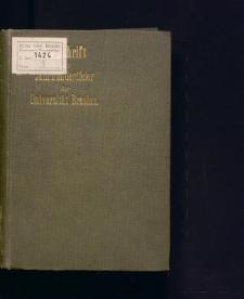 Festschrift zur Jahrhundertfeier der Universität zu Breslau. Im Namen der Schlesischen Gesellschaft für Volkskunde