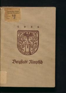 Geschichte der Bergstadt Nimptsch