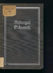 Rittergut Schosnitz Kreis Breslau