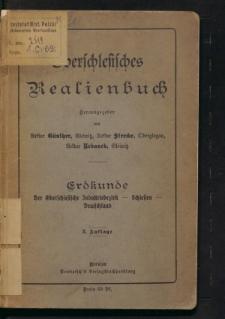Oberschlesisches Realienbuch. Erdkunde - der oberschlesische Industriebezirk - Schlesien - Deutschland