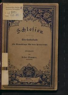 Schlesien. Eine Landeskunde als Grundlage für den Unterricht
