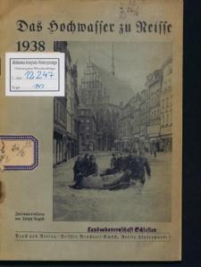 Das Hochwasser zu Neisse 1938
