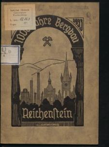 100 Jahre Bergbau Reichenstein
