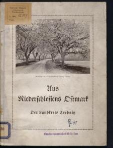 Aus Niederschlesiens Ostmark. Der Landkreis Trebnitz