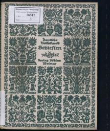 Schlesien. Text und Bildersammlung