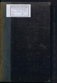 Breslauer Studien. Festschrift des Vereins für Geschichte und Alterthum Schlesiens zum 25. jähr. Amtsjubiläum seines Vicepräses Hermann Markgraf