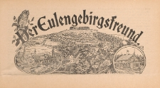 Der Eulengebirgsfreund 1909-09-01 Jg.2 Nr 9
