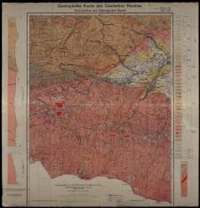 Geologische Karte 1:25 000 - 3008, 3069 Schreiberhau und Schneegruben-Baude