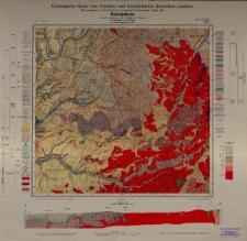 Geologische Karte 1:25 000 - 3245 Königshain