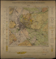 Geologische Karte 1:25 000 - 2256 Guben