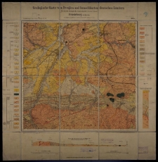 Geologische Karte 1:25 000 - 2945 Friedeberg am Queiss