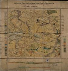 Geologische Karte 1:25 000 - 2820 Gröditzberg