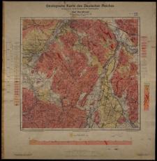Geologische Karte 1:25 000 - 3009 Bad Warmbrunn