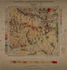 Geologische Karte 1:25 000 - 3135 Gnadenfrei