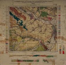 Geologische Karte 1:25 000 - 3244 Glatz
