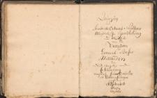 Orgel Dispositionem, Freystadt 1792